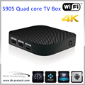 Hot selling MINI TV Box Amogic s905 ott smart tv box google android 5.1 quad core android tv box