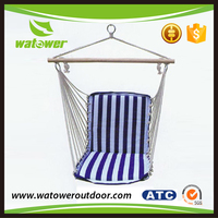 NBWT Outdoor folding cotton canvas hammock swing chair