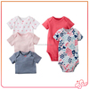 Made in China factory direct 100%cotton soft unisex baby kid clothes