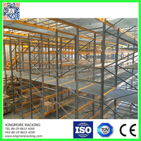 Heavy duty Steel structure mezzanine,warehouse storage
