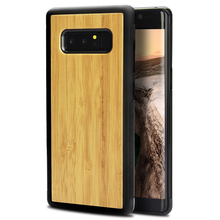 phone housing wood blank cases cell phone case for samsung note 8