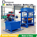 Dongyue Factory supply QT4-30 Hydraulic Diesel Engine Hollow Block Machine best selling in Africa