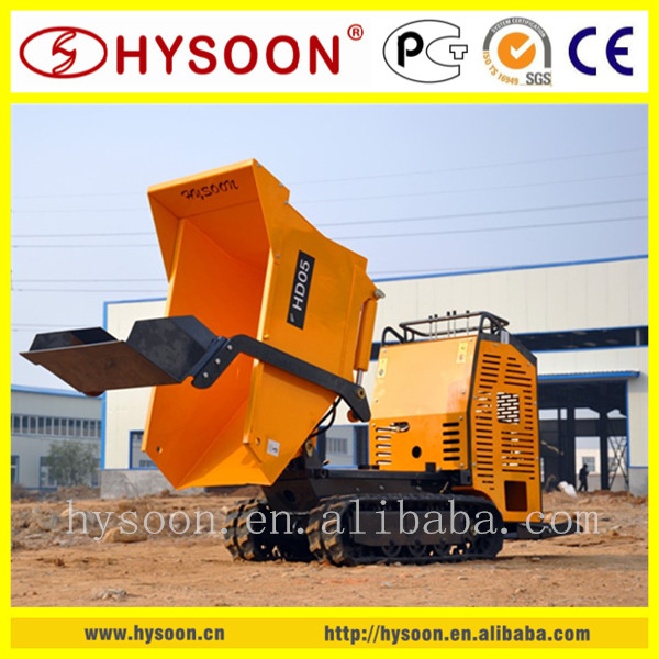 articulated hydraulic small dumper