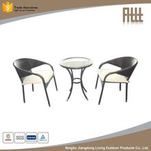 Fine appearance factory supply rattan high bar chair