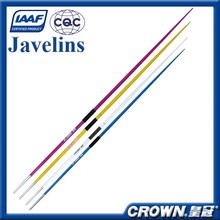 IAAF Certification track and field equipments, sports equipment training & competition javelin, athletic javelin