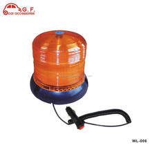 DC 12V to 24V 60 LED Yellow Emergency Flashing Strobe Rotating Beacon Lights