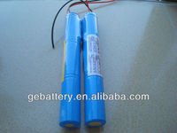ER14505 10.8v battery pack 2400mah 3S1P for Electricity, gas and flow instrumentation