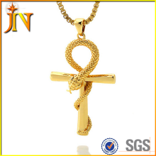 NL050 JN Egyptian Apep Ankh faith retro cross Necklace ankh key religious jewelry symbol of life GOLD COLOR ZINC ALLOY
