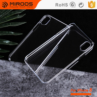 Transparent Clear Hard Plastic PC Blank Mobile Phone Case For iPhone x cover