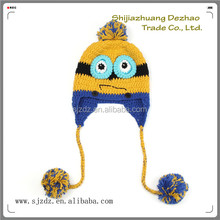 The knit cute crochet beauty fashion baby fur hat animal ears