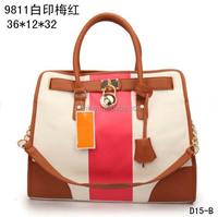2014 High Quality Fashion M&K Hamilton Handbags Women Brand Name Leather Designer M/K Bags