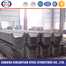 Standard water-resisting galvanized steel sheet pile for roof and wall plate