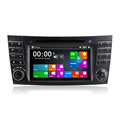 Winmark 7 Inch 2 Din Car Radio DVD Player GPS With Touch Screen GPS Bluetooth For Mercedes-Benz E-Class E220 2002 to 2009 DJ7080