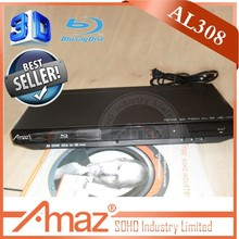 Real 3D Blu-Ray 5.1 channel cheap dvd player with usb