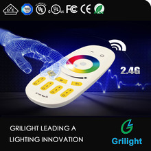 hot sale rf wireless rgb touch led remote controller manual for led strip