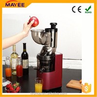 2016 AC motor 80mm national big whole mouth apple slow juicer new cold press juicer