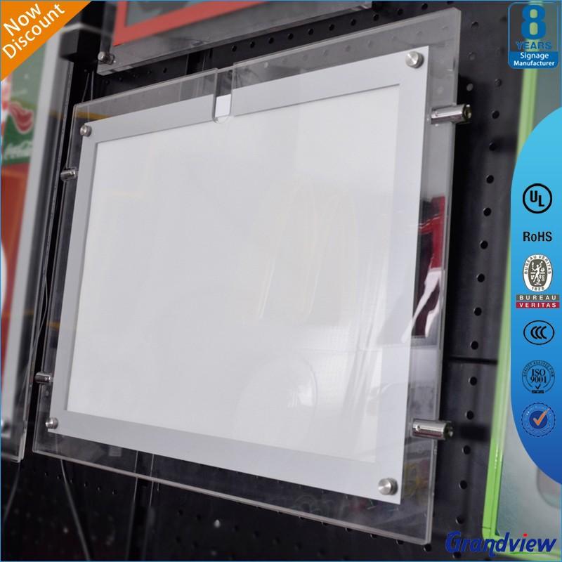 Custom plastic poster frame