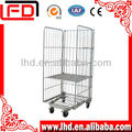 supermaket wire mesh hand trolley