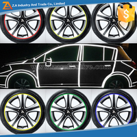 Car/Bicycle/Motorcycle Wheel Rim Sticker on Glow in the Dark Tape