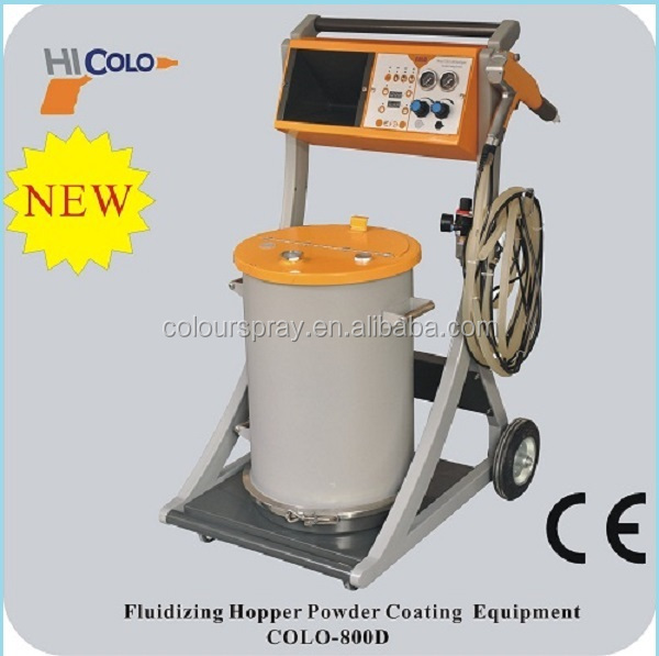 Quick color change Manual coating equipment