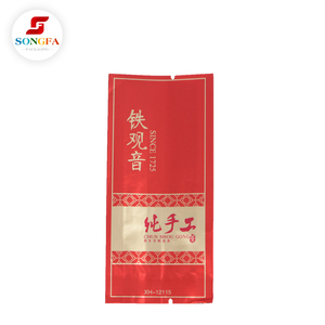 Tea bags packaging materials with custom design