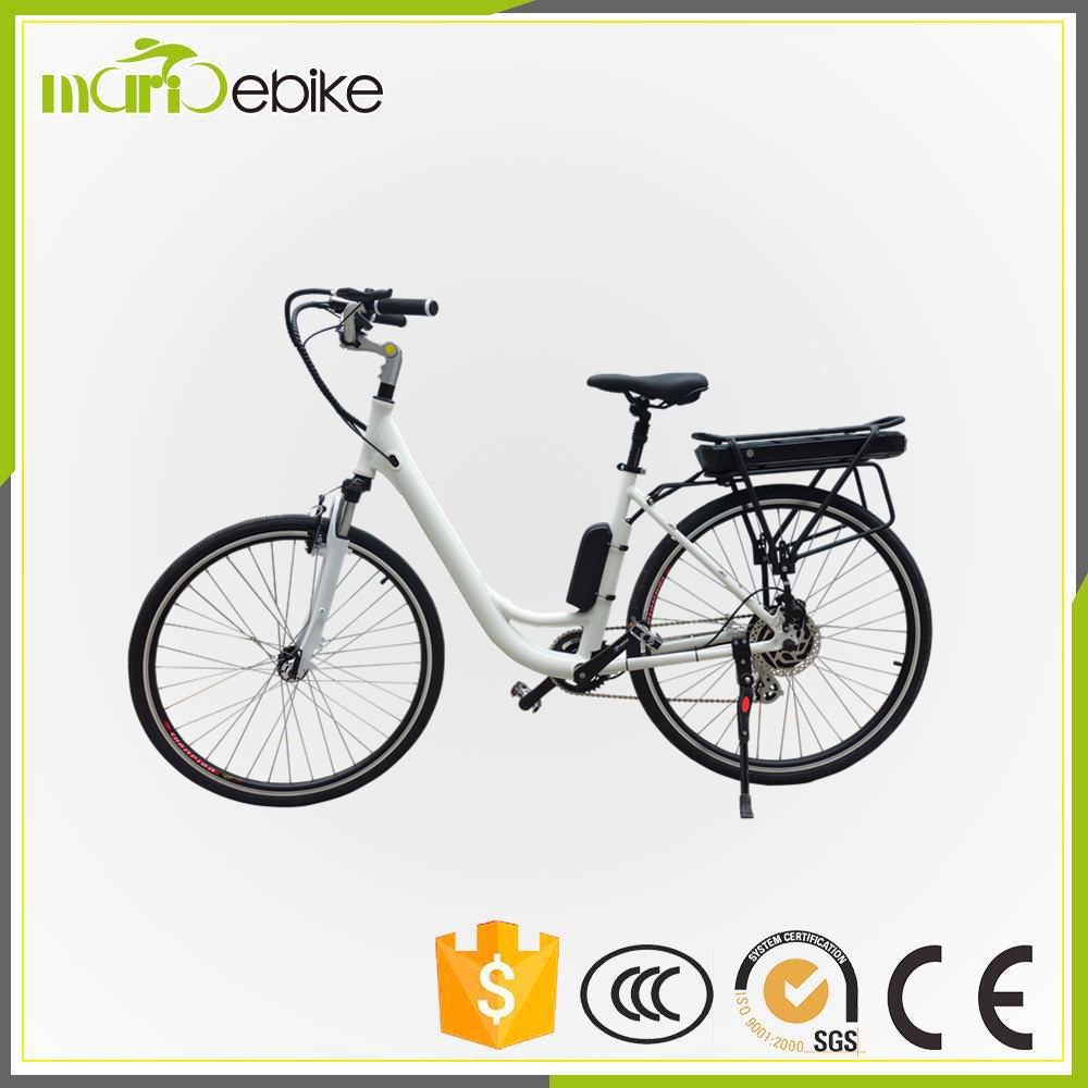 woman 250w electric bicycle dropship city bike with best quality and low price