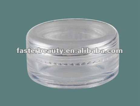 200g Round acrylic Jars with double wall jar