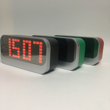 factory supply multi-function led light alarm table clock with digital display