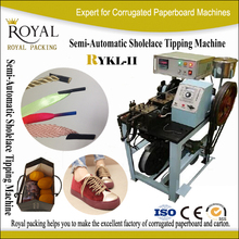 RYKL-II semi- automatic shoelace tipping machine cord shoe lace tipping machine