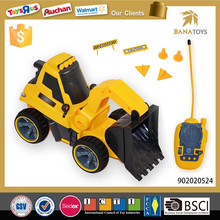 Hot kid toys remote control rc excavator for sale