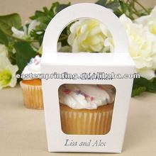 Top quality fancy cupcake packaging