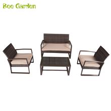 High temperature resistant to oxidation outdoor rattan furniture set All Weather pool side Wicker