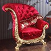 BISINI Luxury Gold Plate Arab Sofa