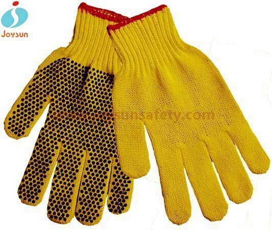 Good! High quaility white cotton grip gloves