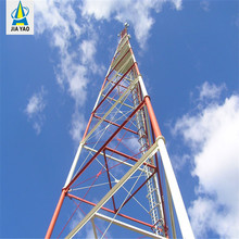 Triangular radio communication equipment with HDG lattice steel