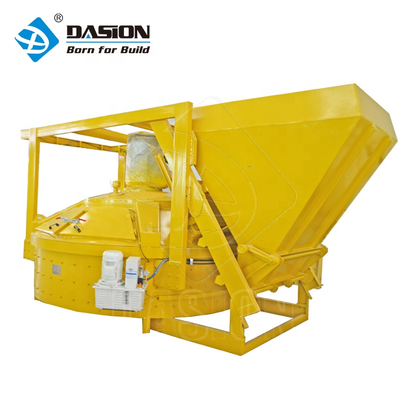 Precast pan type 750l vertical shaft planetary concrete mixer with price