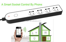 Mobile Phone Control Power Strip POWER-PRO 4-Port Power Strip with Ethernet and Wi-Fi
