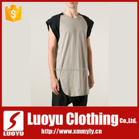 fancy tops for men gym tank top with custom printed logo
