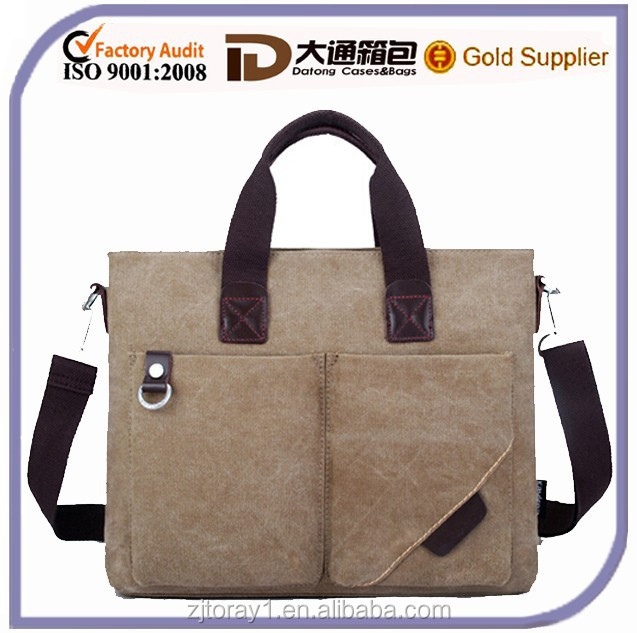 High Quality Blank Plain Canvas Cluth Long Strap Wholesale Bag