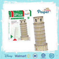 Tower of pisa toy 3d paper models