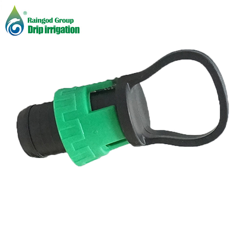 Locking Ring Tape Plug End Fitting for Drip Irrigation