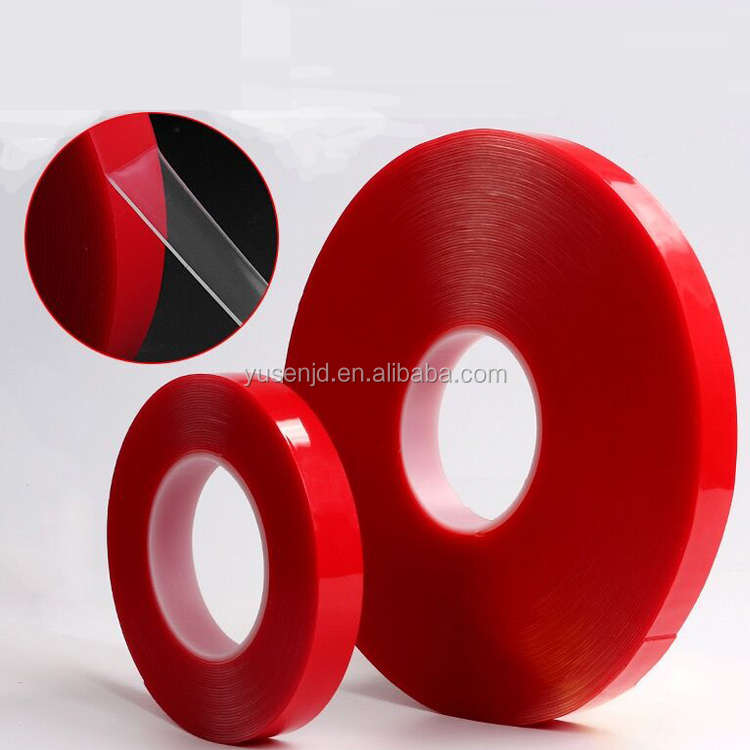 Clear VHB double coated 3m acrylic vhb foam tape for Dustproof and airproof