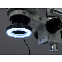 New Arrival LED Stereo Zoom Microscope Adjustable Ring Light