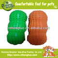 peanut shaped latex pet toy,soft squeaky latex pet toy for dogs
