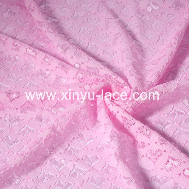 New arrival Most popular 100 polyester lace fabric