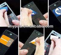 promotional microfiber cell phone sticker cleaner