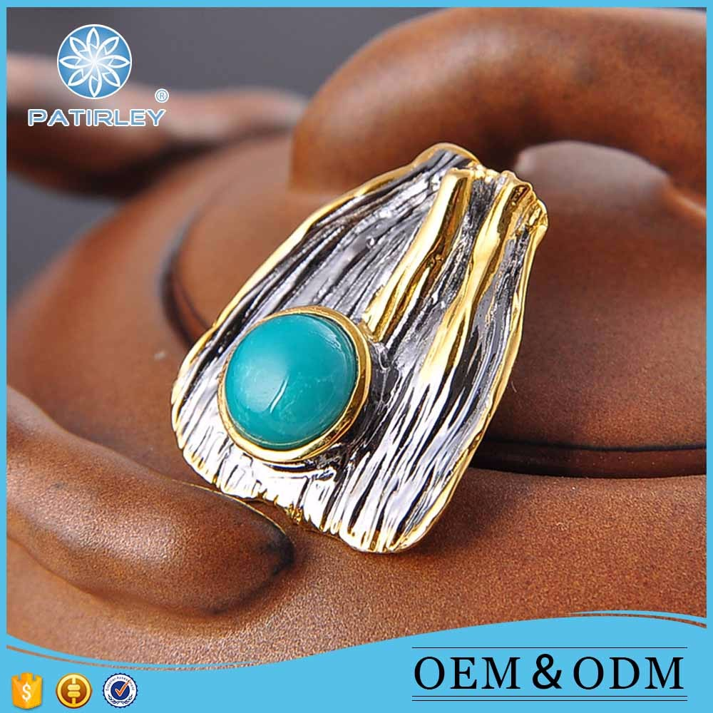 New product natural stone pendant india turquoise jewelry