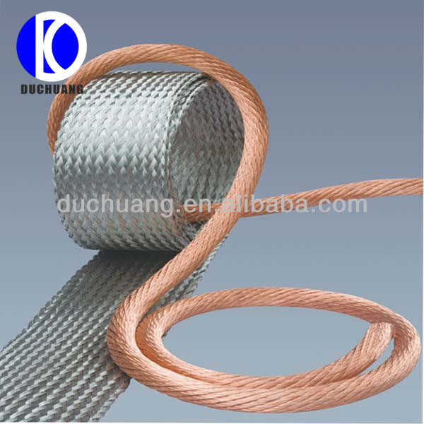 Braided Copper Cable : Copper braid wire buy earth