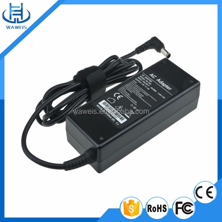 OEM factory AC/DC power adapter 15V 5A for laptop adapter