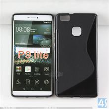 For Huawei P8 lite Case,New S Line Soft TPU Gel Skin Back Cover Case For huawei p9 lite